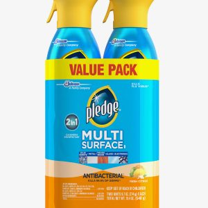 7 300x300 - Pledge Multi-surface Antibacterial Everyday Cleaner 9.7 ounces 2pk