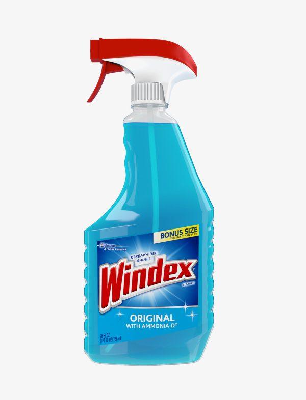 9 600x786 - Nettoyant à vitres original Windex 26 onces (non organique)